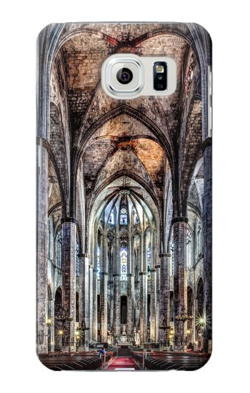 Printed Santa Maria Del Mar Cathedral Samsung Galaxy S6 edge Case