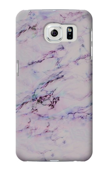 Printed Seamless Pink Marble Samsung Galaxy S6 edge Case