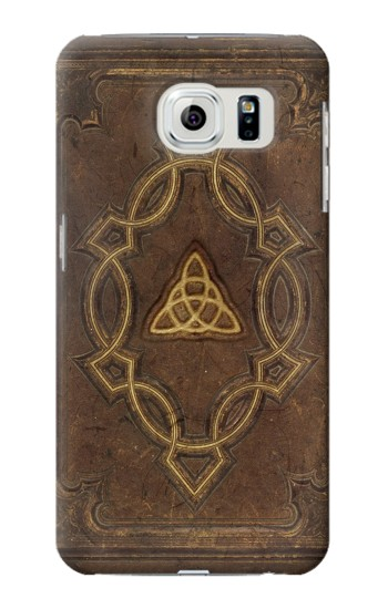Printed Spell Book Cover Samsung Galaxy S6 edge Case