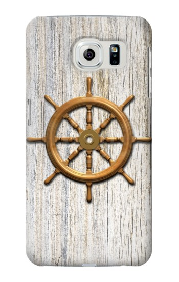 Printed Steering Wheel Ship Samsung Galaxy S6 edge Case