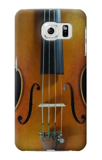 Printed Violin Samsung Galaxy S6 edge Case