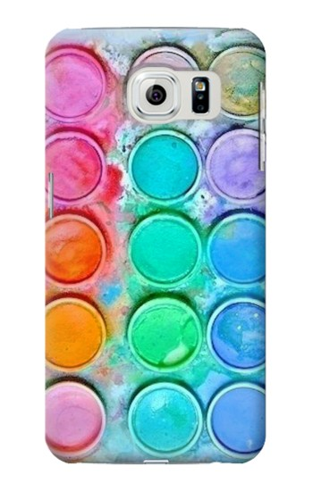 Printed Watercolor Mixing Samsung Galaxy S6 edge Case