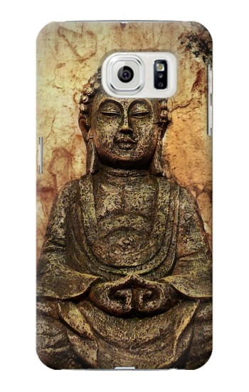 Printed Buddha Rock Carving Samsung Galaxy S7 edge Case