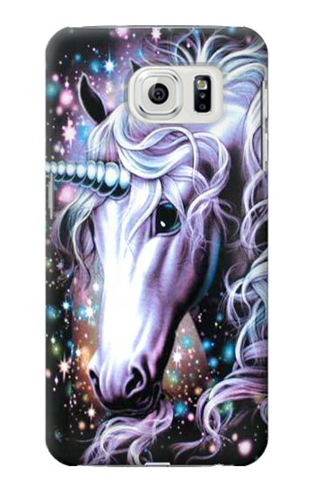 Printed Unicorn Horse Samsung Galaxy S7 edge Case