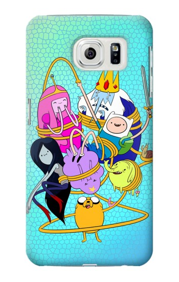 Printed Adventure Time Samsung Galaxy S7 edge Case