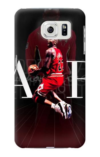 Printed Basketball Air Jordan Samsung Galaxy S7 edge Case
