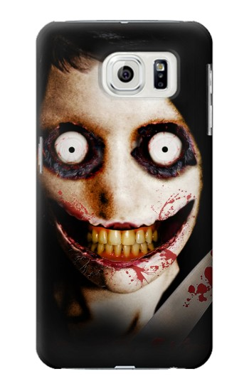 Printed Jeff the Killer Samsung Galaxy S7 edge Case