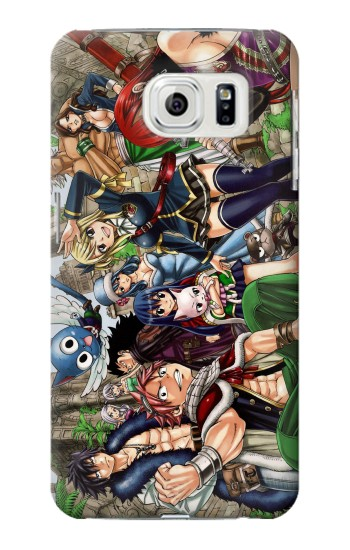 Printed Fairy Tail Guild Members Samsung Galaxy S7 edge Case