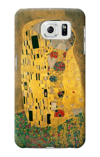 Printed Gustav Klimt The Kiss Samsung Galaxy S7 edge Case