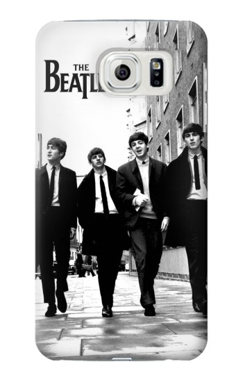 Printed The Beatles in London Samsung Galaxy S7 edge Case