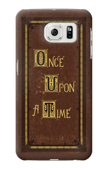 Printed Once Upon a Time Book Cover Samsung Galaxy S7 edge Case