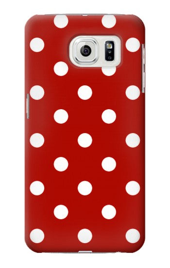 Printed Red Polka Dots Samsung Galaxy S7 edge Case