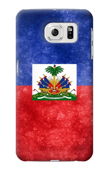 Printed Haiti Flag Samsung Galaxy S7 edge Case