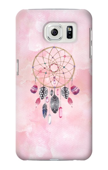 Printed Dreamcatcher Watercolor Painting Samsung Galaxy S7 edge Case