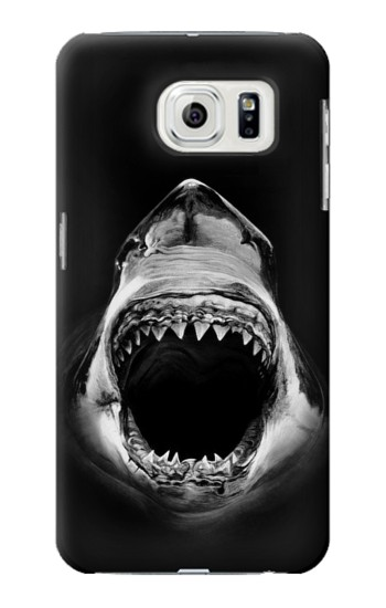 Printed Great White Shark Samsung Galaxy S7 edge Case