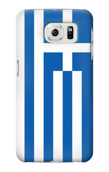 Printed Flag of Greece Samsung Galaxy S7 edge Case