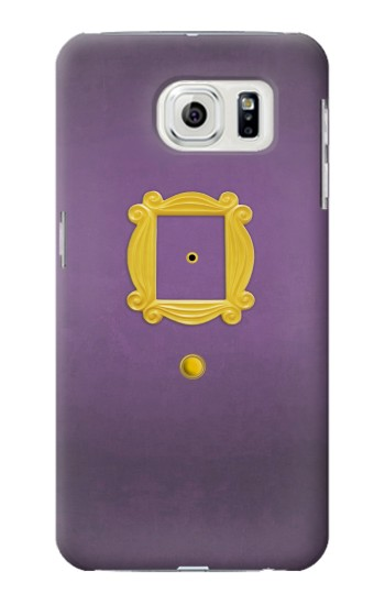 Printed Friends Purple Door Minimalist Samsung Galaxy S7 edge Case