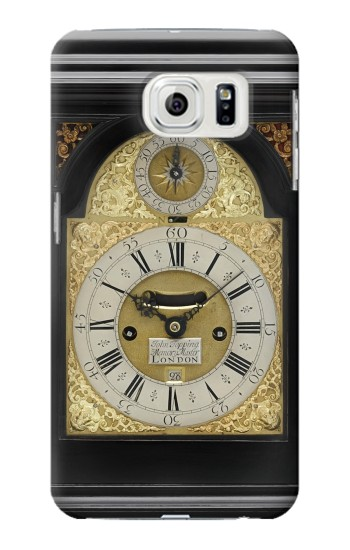 Printed Antique Bracket Clock Samsung Galaxy S7 edge Case
