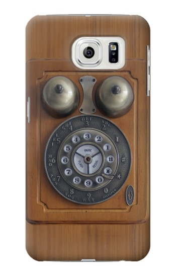 Printed Antique Wall Phone Samsung Galaxy S7 edge Case