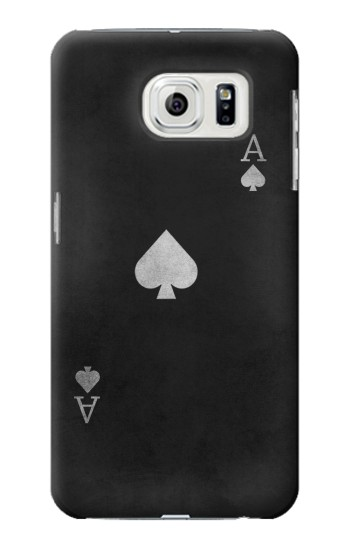 Printed Black Ace of Spade Samsung Galaxy S7 edge Case