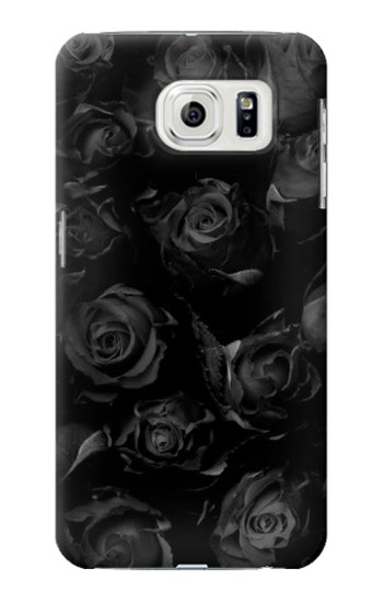 Printed Black Roses Samsung Galaxy S7 edge Case