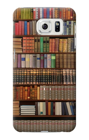 Printed Bookshelf Samsung Galaxy S7 edge Case