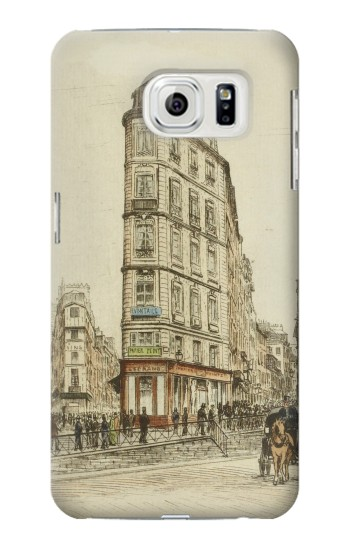 Printed Boulevards of Paris Samsung Galaxy S7 edge Case