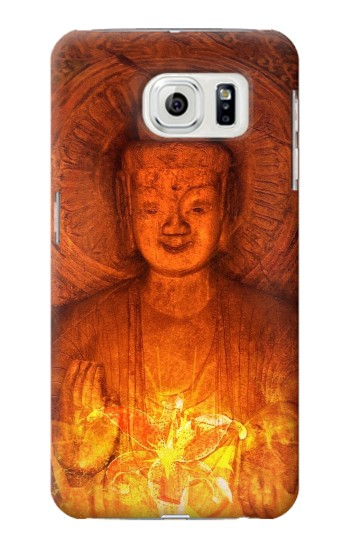 Printed Buddha Spiritual Holy Lights Samsung Galaxy S7 edge Case
