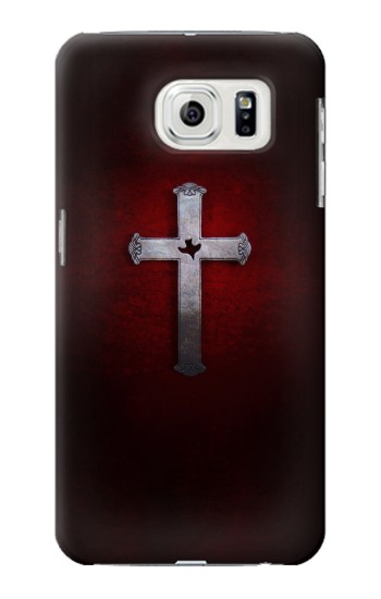 Printed Christian Cross Samsung Galaxy S7 edge Case
