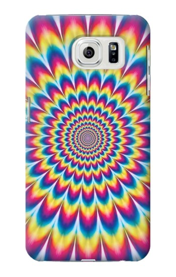 Printed Colorful Psychedelic Samsung Galaxy S7 edge Case