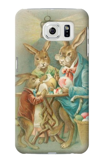 Printed Easter Rabbit Family Samsung Galaxy S7 edge Case