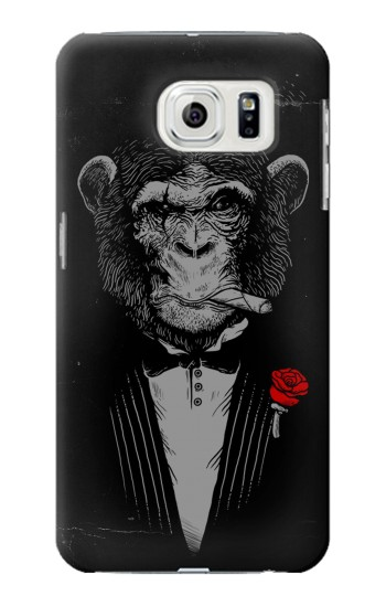 Printed Funny Monkey God Father Samsung Galaxy S7 edge Case