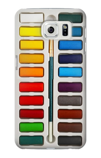 Printed Watercolor Paint Set Samsung Galaxy S7 edge Case
