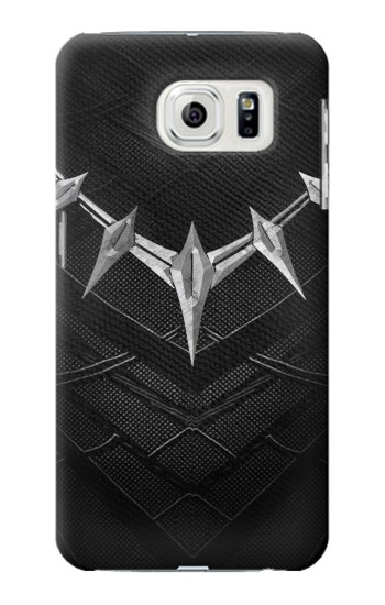 Printed Black Panther Inspired Costume Necklace Samsung Galaxy S7 edge Case