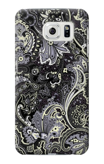 Printed Batik Flower Pattern Samsung Galaxy S7 edge Case