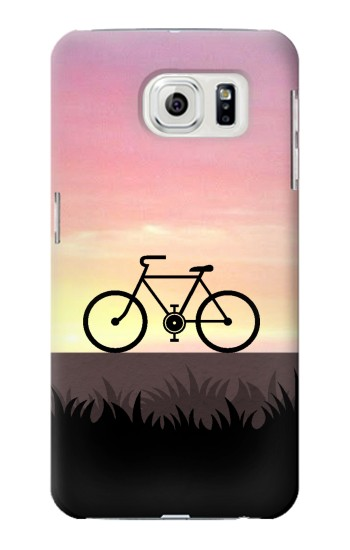 Printed Bicycle Sunset Samsung Galaxy S7 edge Case