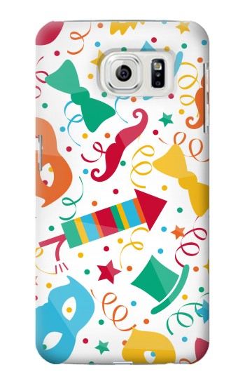 Printed Carnival Pattern Samsung Galaxy S7 edge Case