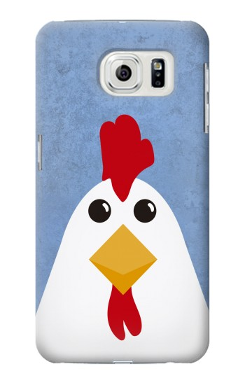 Printed Chicken Cartoon Samsung Galaxy S7 edge Case