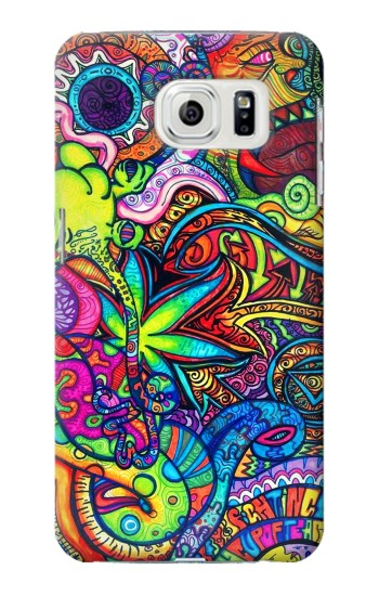 Printed Colorful Art Pattern Samsung Galaxy S7 edge Case