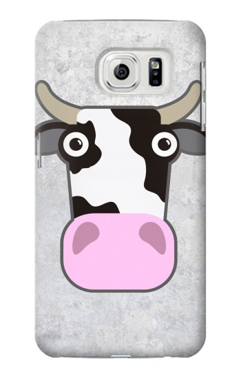 Printed Cow Cartoon Samsung Galaxy S7 edge Case