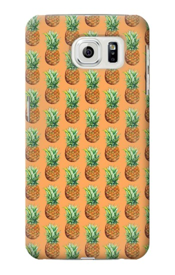 Printed Pineapple Pattern Samsung Galaxy S7 edge Case
