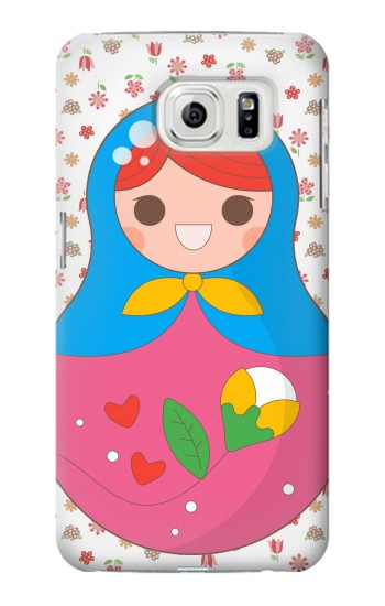 Printed Russian Doll Matryoshka Samsung Galaxy S7 edge Case