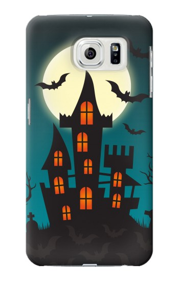 Printed Halloween Festival Castle Samsung Galaxy S7 edge Case