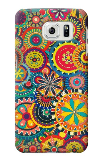 Printed Colorful Pattern Samsung Galaxy S7 edge Case