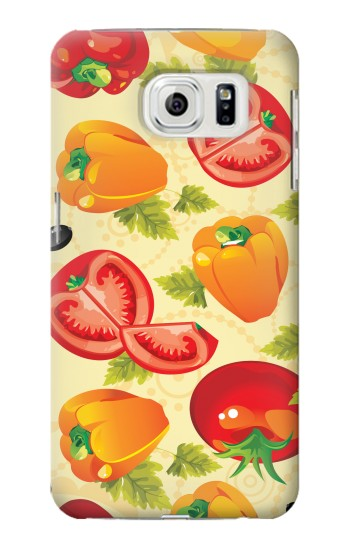 Printed Seamless Food Vegetable Samsung Galaxy S7 edge Case