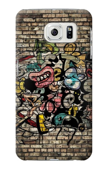 Printed Graffiti Wall Samsung Galaxy S7 edge Case