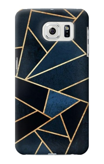 Printed Navy Blue Graphic Art Samsung Galaxy S7 edge Case