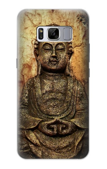 Printed Buddha Rock Carving Samsung Galaxy S8+ Case