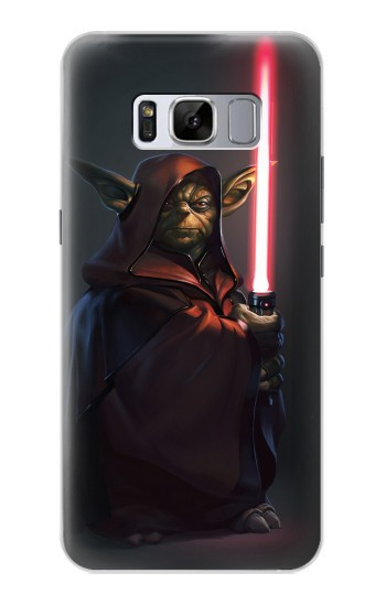Printed Darth Yoda Samsung Galaxy S8+ Case