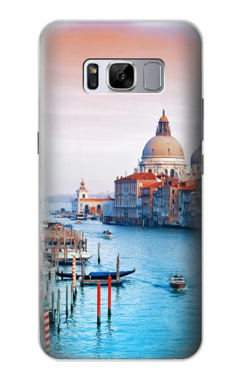 Printed Beauty of Venice Italy Samsung Galaxy S8+ Case